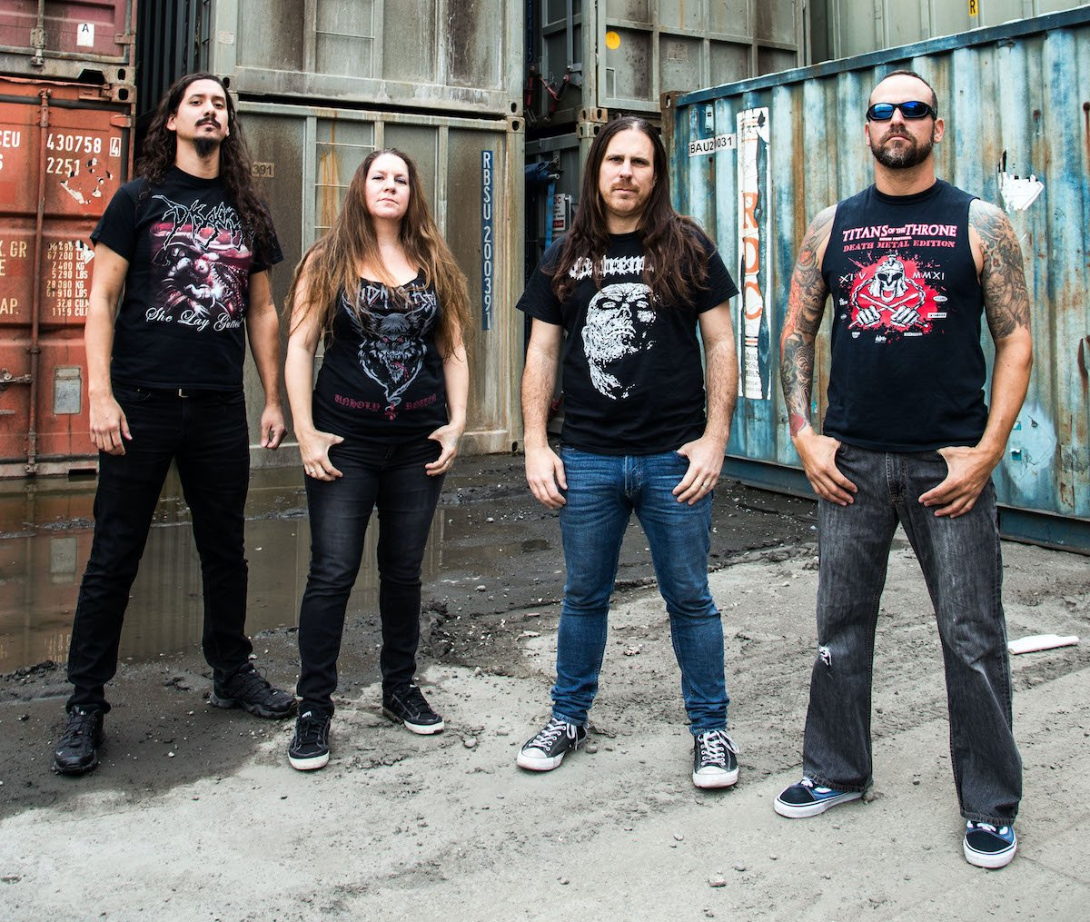 "EXHUMED & GRUESOME To Release ""Twisted Horror"" Split In June!"