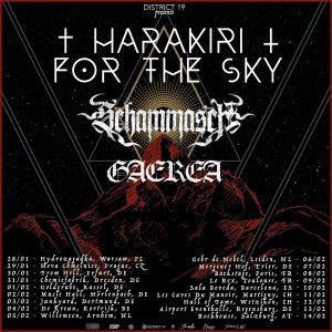 GAEREA announce European tour with Harakiri For The Sky and Schammasch!