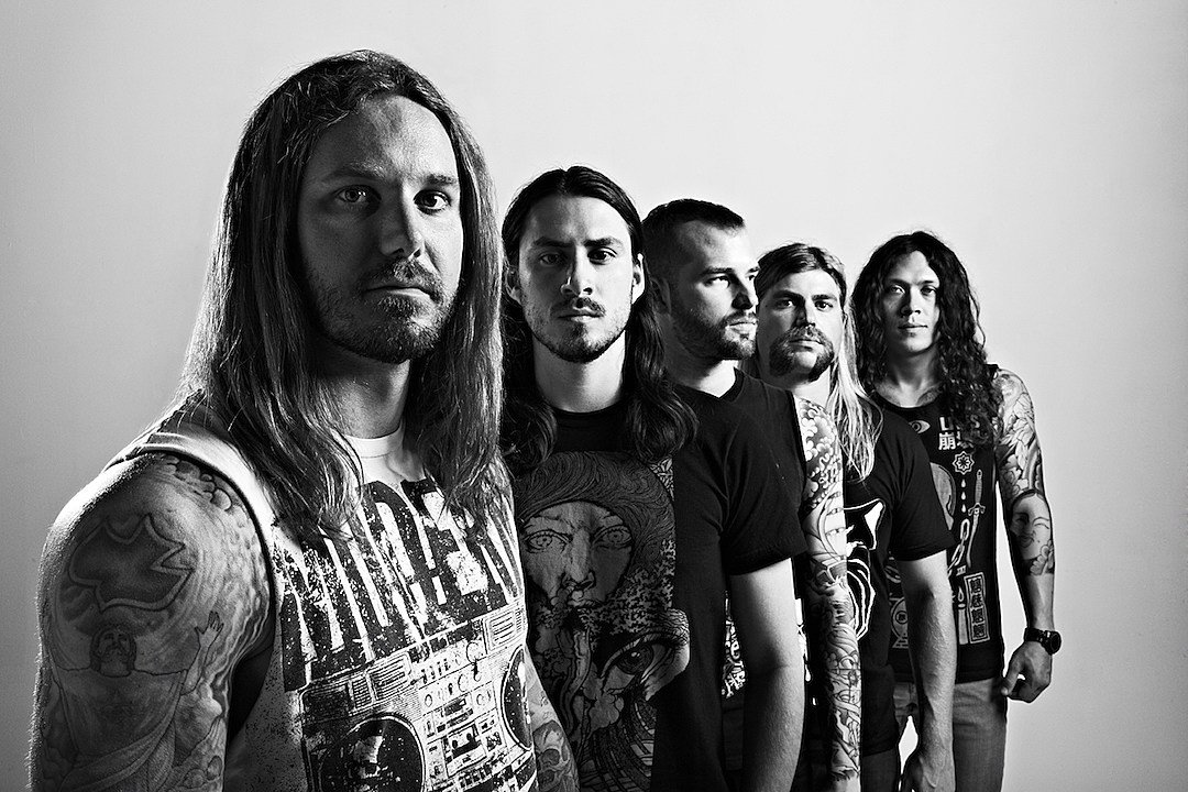 """AS I LAY DYING: Official Music Video For Song """"Torn Between""""."""