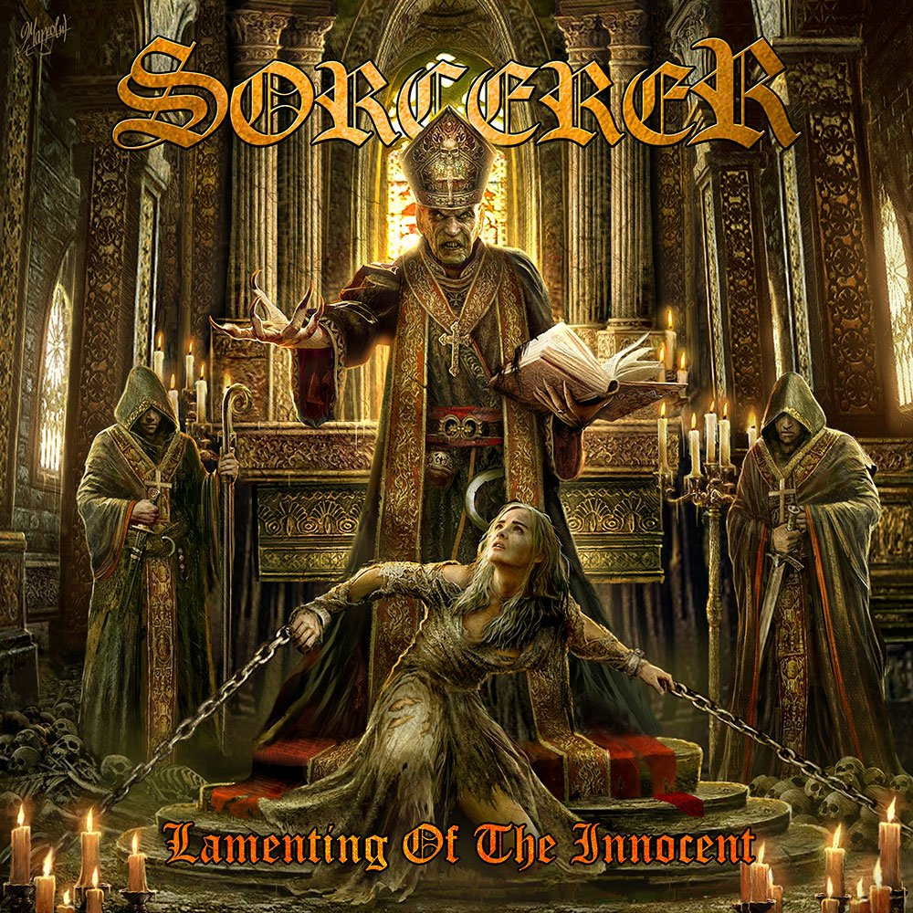 "SORCERER launches video for new single, ""Deliverance"" – featuring guest vocals by Johan Langquist of Candlemass!"