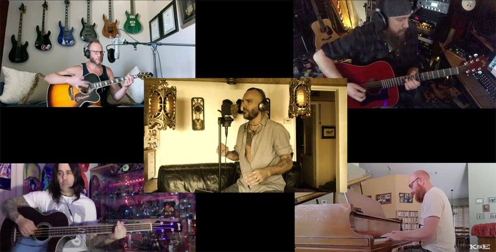 "KILLSWITCH ENGAGE Release Live Performance Video Of Acoustic Version Of ""We Carry On"" Recorded in Quarantine."
