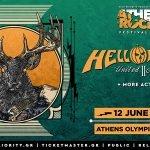 Αλλαγή ημερομηνίας για την ζωντανή εμφάνιση των HELLOWEEN στο AthensRocks!!