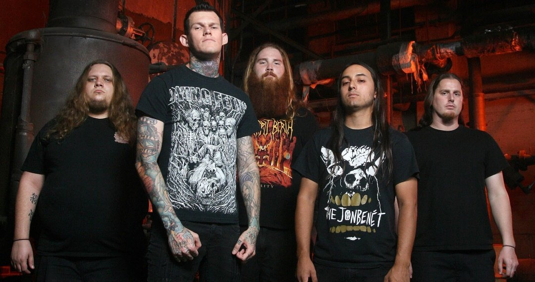 """CARNIFEX Reveal New Track """"Cursed (Isolation Mix)""""."""