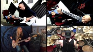 """TESTAMENT And OVERKILL Members Join Forces For Quarantine Cover Of DEATH's """"Overactive Imagination""""!"""