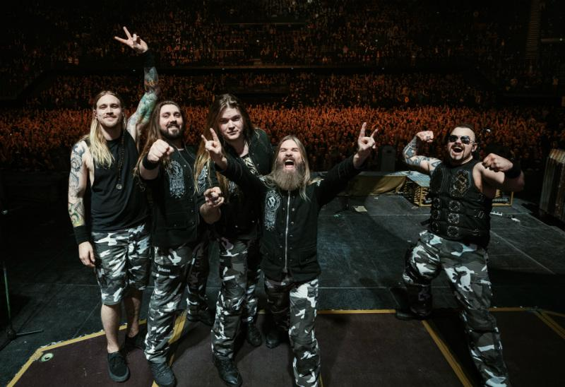 "New lyric video for the song ""Devil Dogs"" by SABATON!"