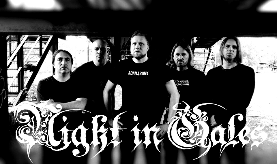 """NIGHT IN GALES – Official Video For Song """"Through Dark Decades""""."""