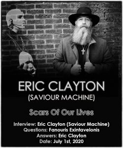 Eric Clayton (Saviour Machine) – Scars Of Our Lives
