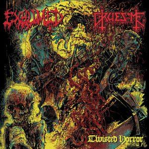 Exhumed / Gruesome – Twisted Horror (Split)
