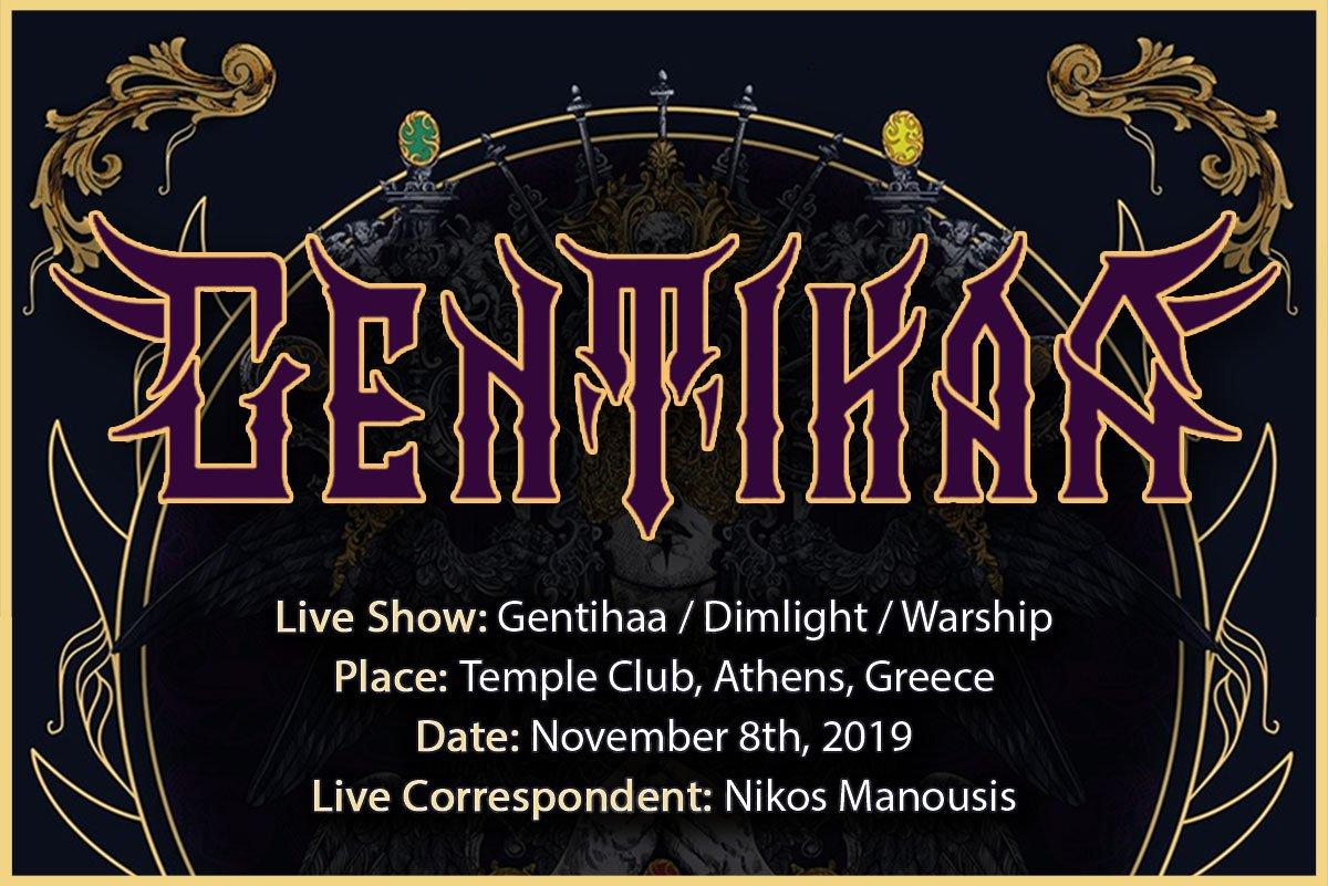 Gentihaa, Dimlight, Warship (Athens, Greece – 8/11/2019)