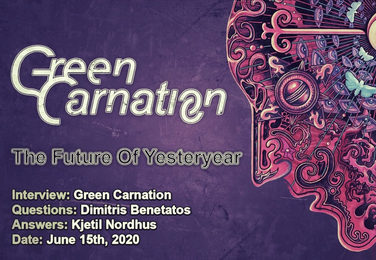 Green Carnation – The Future Of Yesteryear