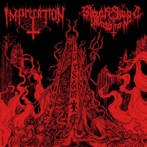 Imprecation/Black Blood Invocation – Diabolical Flames Of The Ascended Plague (Split)