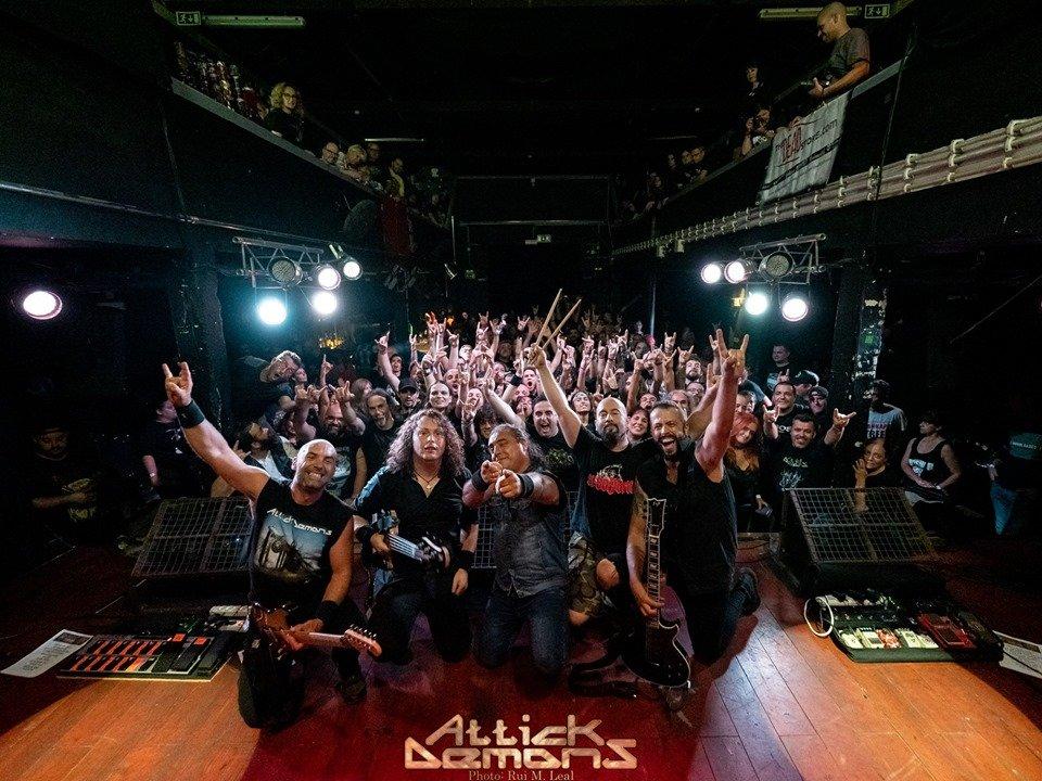 Οι Πορτογάλοι Heavy Metallers ATTICK DEMONS υπογράφουν με τη ROAR! Rock of Angels Records!