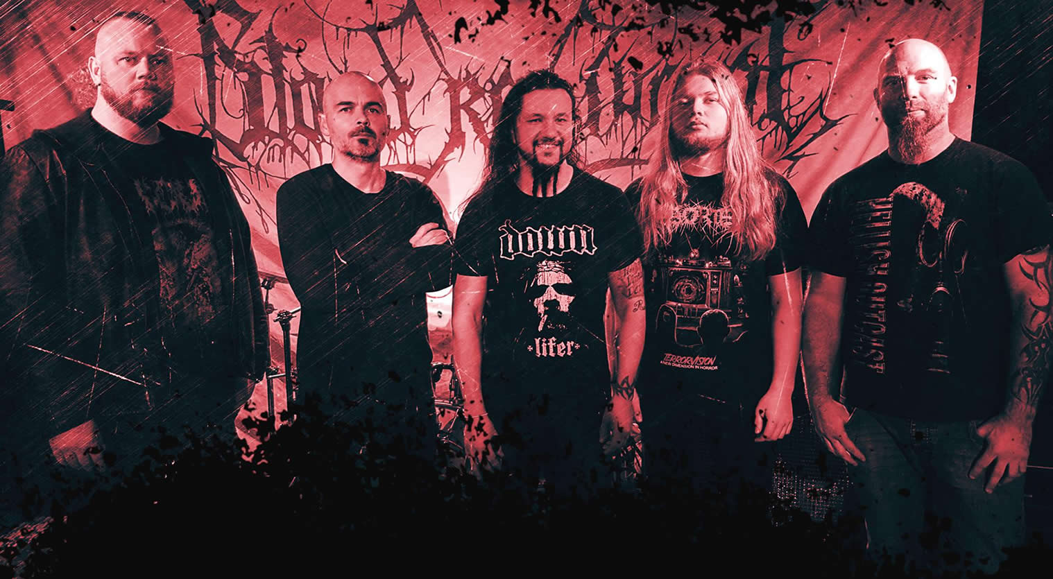 """BLOOD RED THRONE Premiere """"Bloodity"""" Video."""