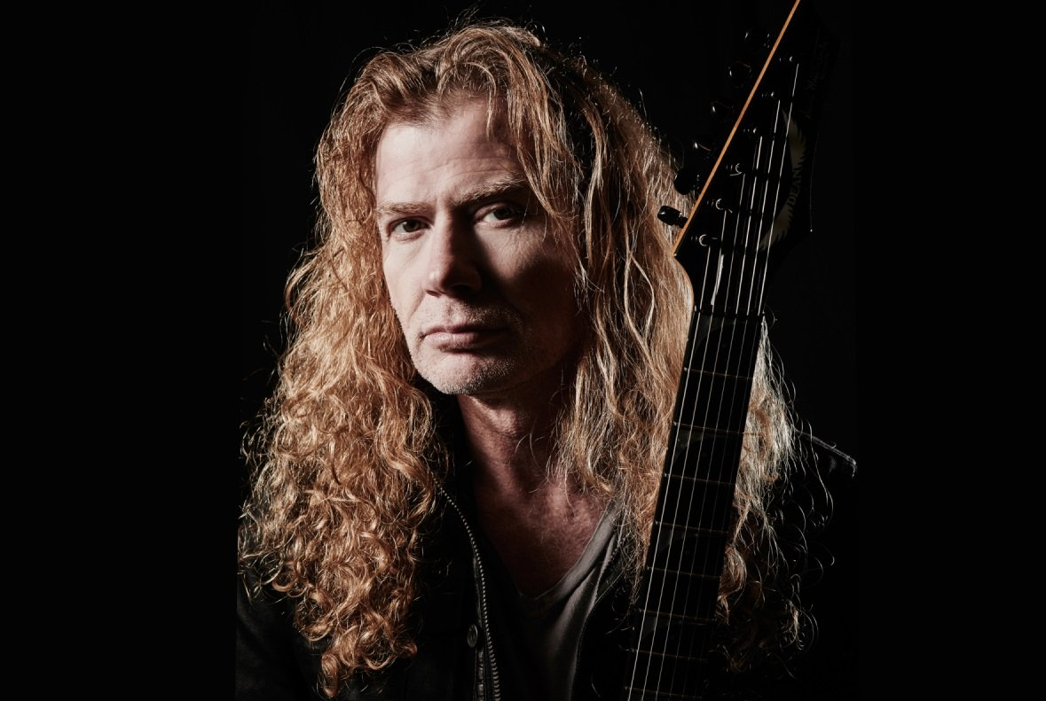 """Dave Mustaine: """"IRON MAIDEN's Bruce Dickinson helped me during cancer battle!"""""""