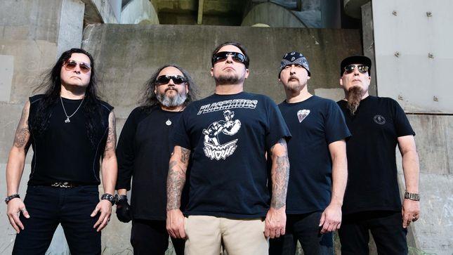 Οι Thrash Metallers EVILDEAD επιστρέφουν μετά από τριάντα χρόνια με το νέο τους δίσκο «United $tate$ Of Anarchy»!