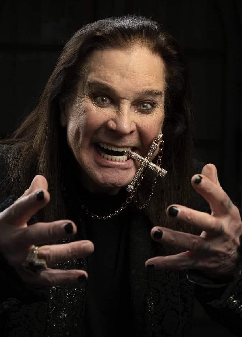 Ozzy Osbourne back at work on a new album!