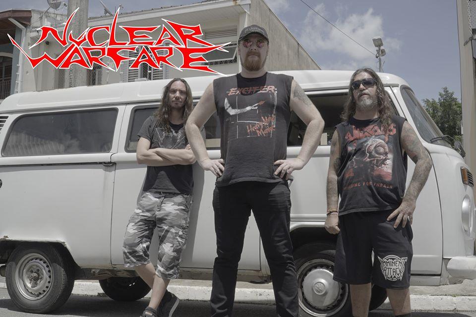 "NUCLEAR WARFARE release video for ""Death By Zuccini""!"