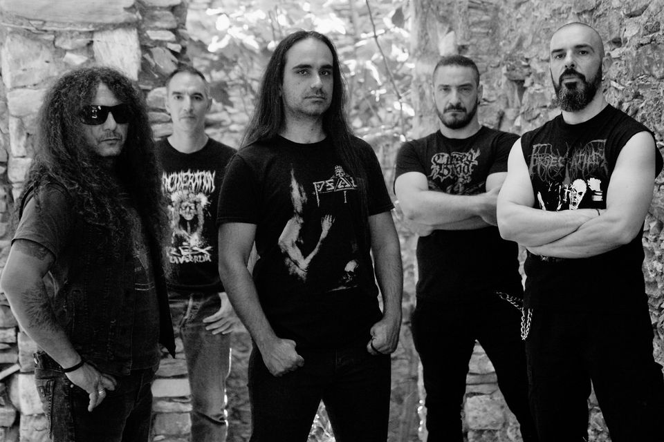 """Greek Deathsters SOULSKINNER Premiere Lyric Video For New Song """"Seven Bowls of Wrath""""."""