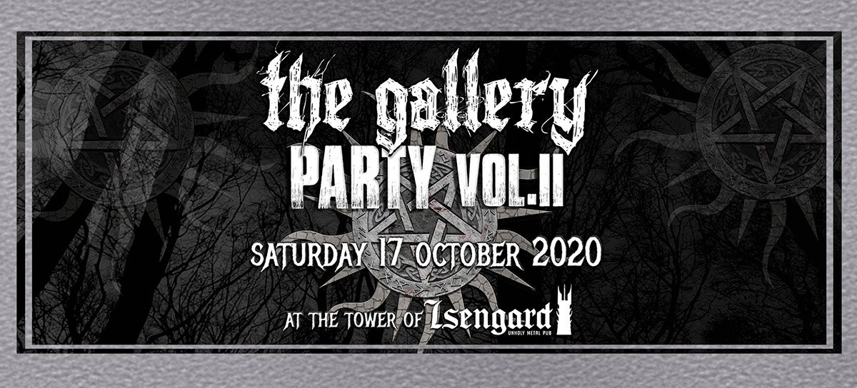 The Gallery Party – Vol.ΙΙ (17/10/2020)
