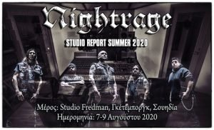 Nightrage – Studio Report 2020