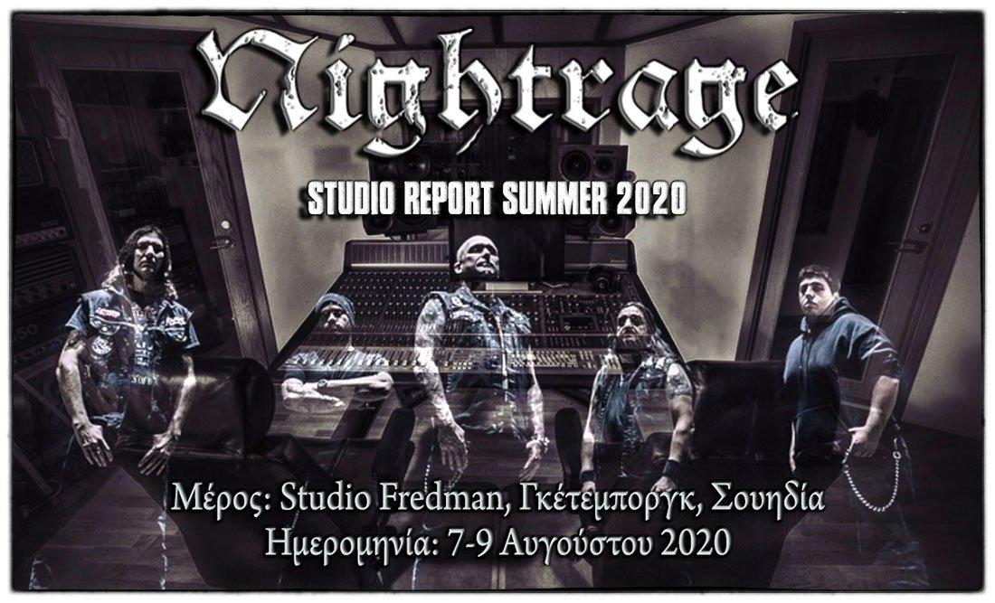 Nightrage – Studio Report 2020