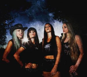 "NERVOSA: Official Video For New Song ""Guided By Evil""."