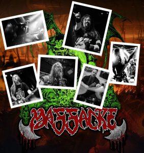 Οι Death Metallers MASSACRE ανακοίνωσαν τη νέα σύνθεση τους!!