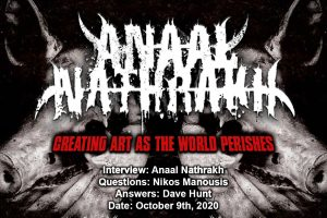 Anaal Nathrakh – Creating Art As the World Perishes