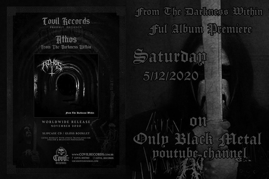 ATHOS: New record out for the Hellenic Black Metal band!