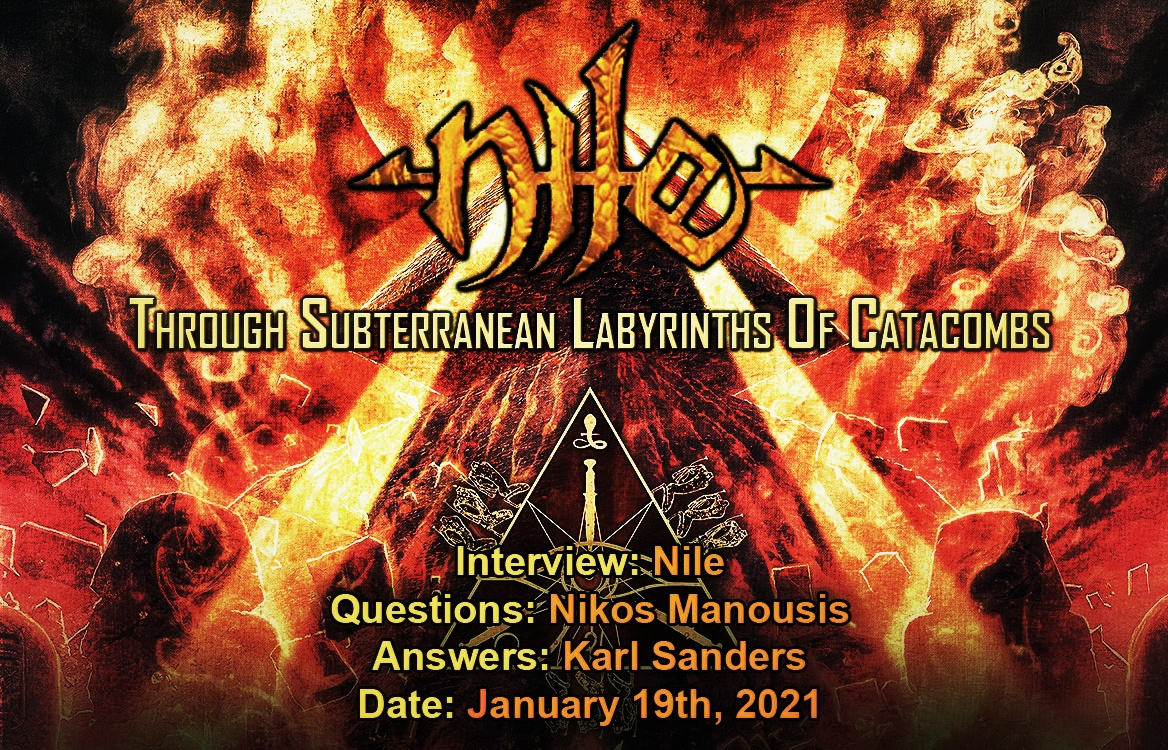 Nile – Through Subterranean Labyrinths Of Catacombs