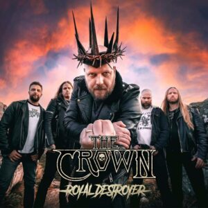 """THE CROWN Launches Video For New Single, """"Motordeath""""."""
