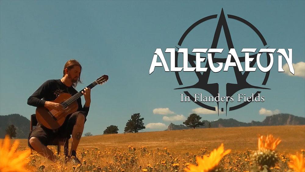 Οι ALLEGAEON κυκλοφόρησαν ακουστικό βίντεο για το «In Flanders Fields»!