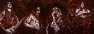 "Black Metallers SARKRISTA Premiere New Song ""The Beast Reborn""."
