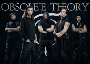 """OBSOLETE THEORY reveal """"Dawnfall"""" cover and album details."""