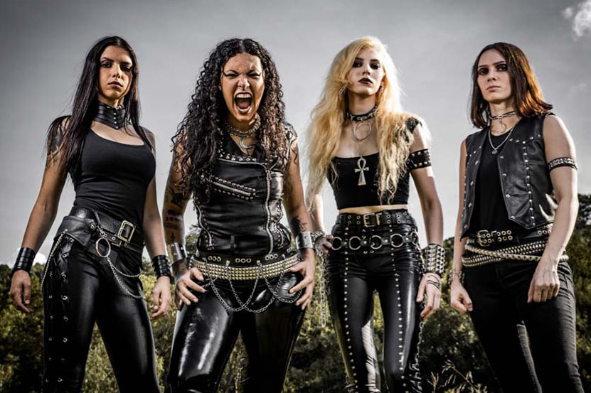 """CRYPTA, feat. former NERVOSA & BURNING WITCHES members, announced debut album """"Echoes Of The Soul""""!"""