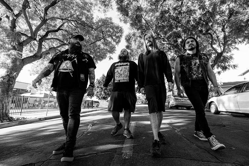 "INCITE return with new single, ""Deadbeat""."