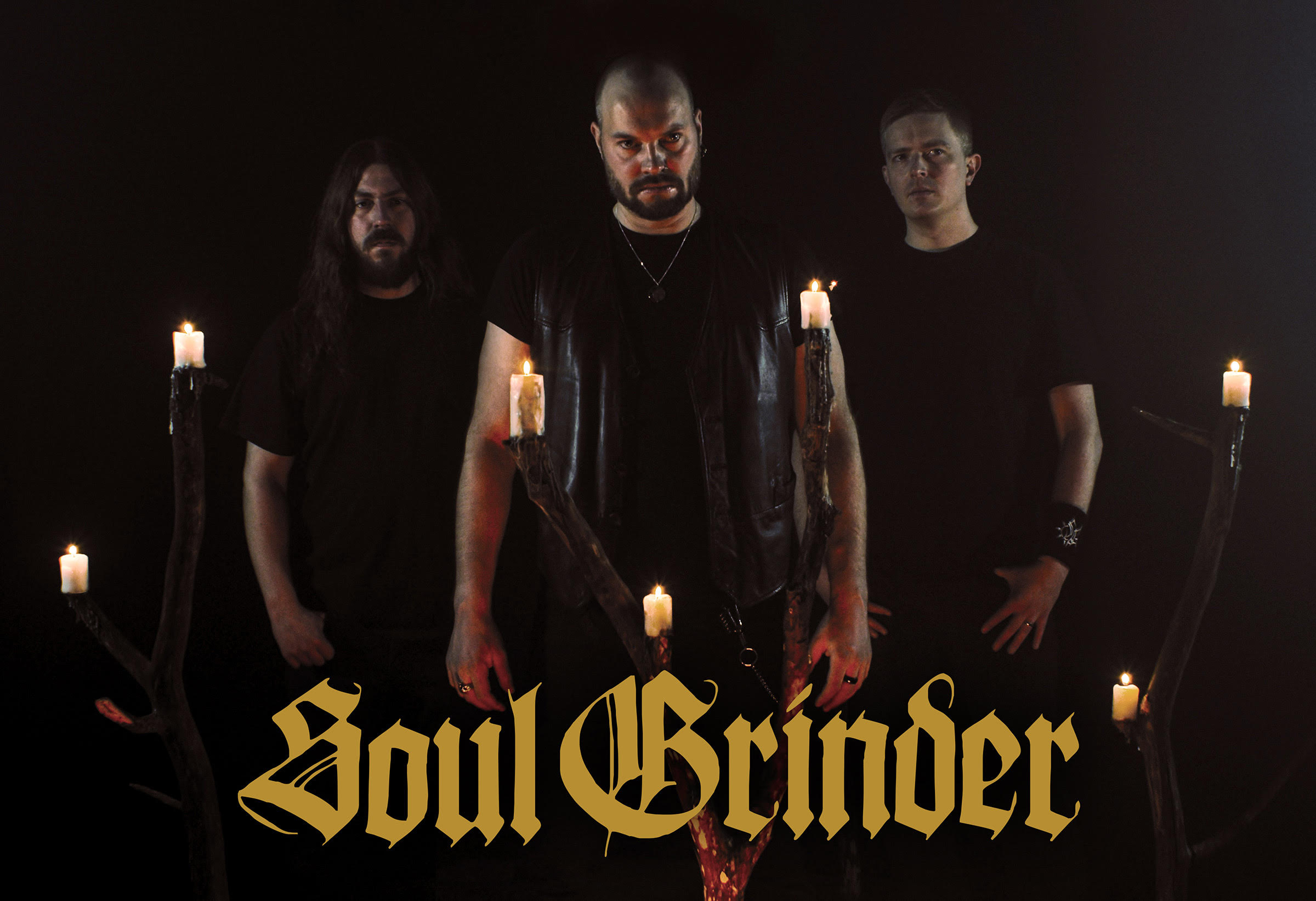 """SOUL GRINDER announce new EP release """"Lifeless Obsession"""" to be released in June."""
