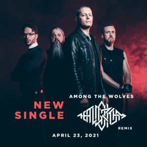"""PURE OBSESSION & RED NIGHTS  released new single """"Among the wolves""""."""