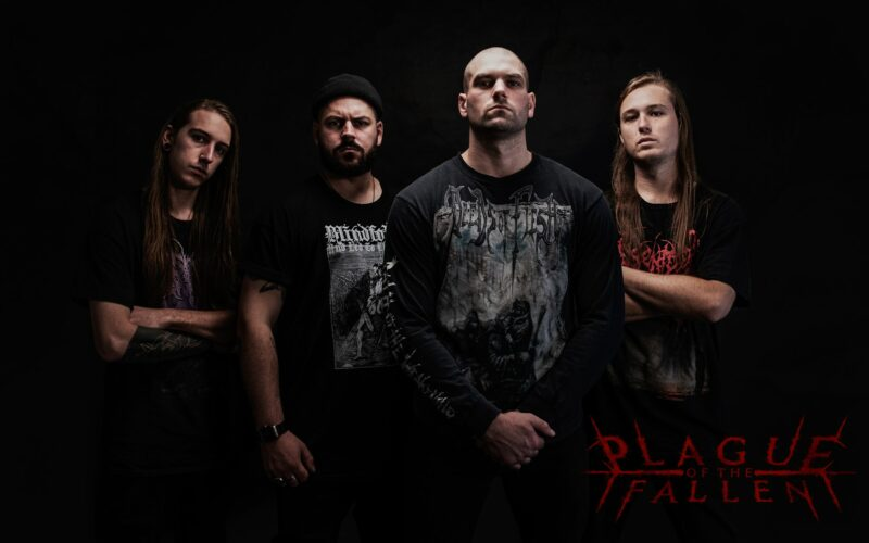 """Death Metallers PLAGUE OF THE FALLEN Release New Song """"Descent into Insanity""""."""