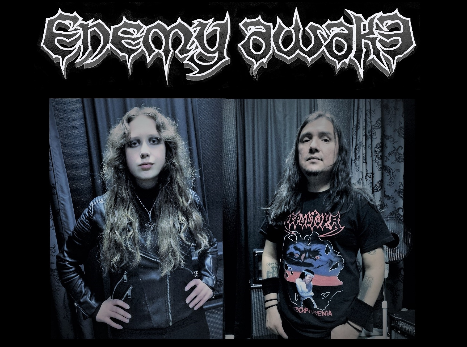 """ENEMY AWAKE release a new video for the track """"Hate""""."""