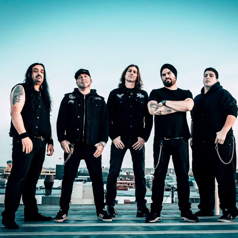 """Οι NIGHTRAGE παρουσίασαν το εξώφυλλο του single τους """"Falsifying Life""""."""