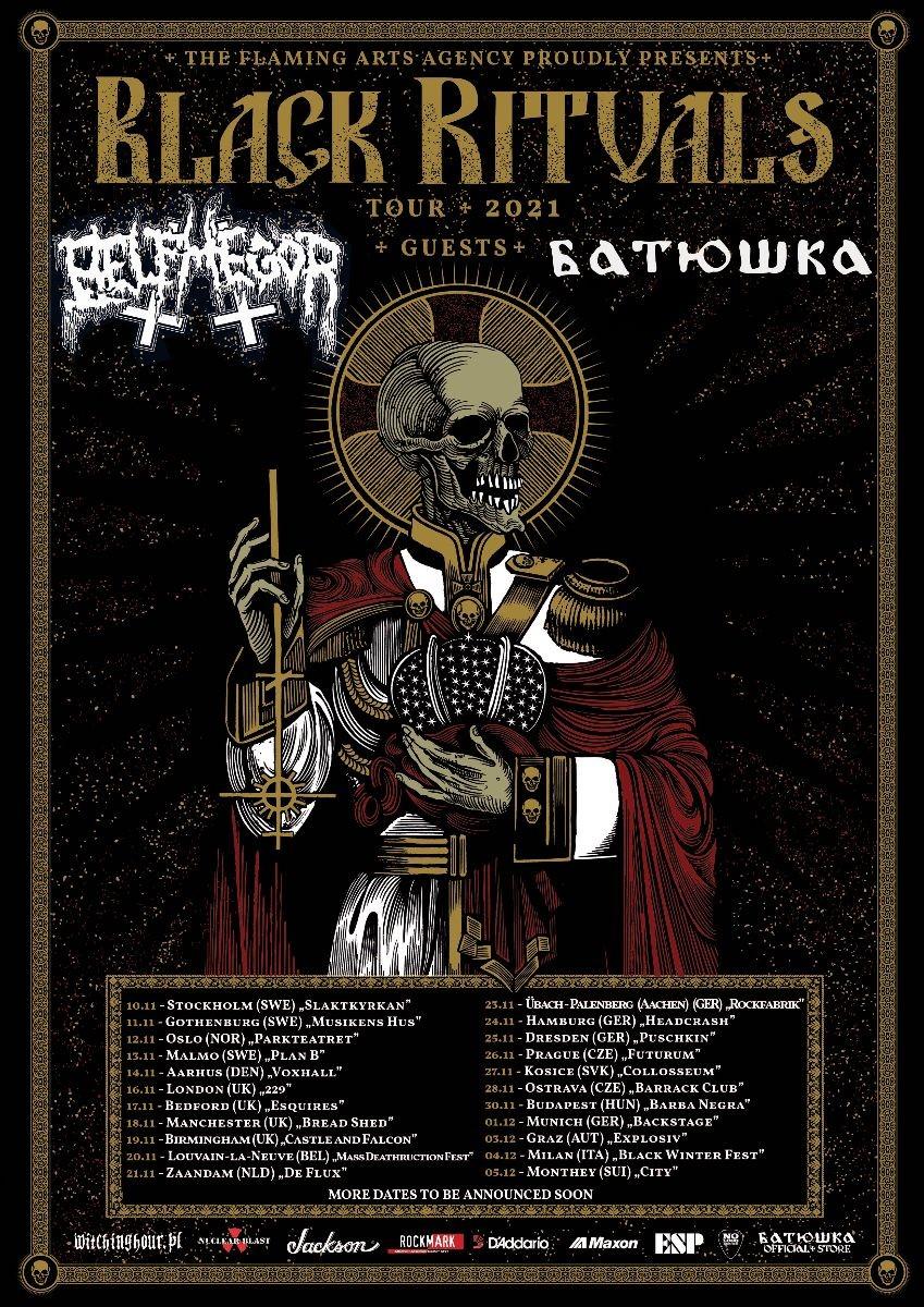 Οι BELPHEGOR ανακοίνωσαν ευρωπαϊκή περιοδεία μαζί με τους BATUSHKA.