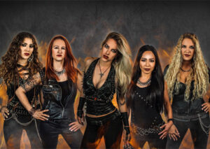 """BURNING WITCHES released music video for new single """"The Witch Of The North""""."""