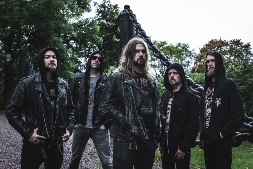 """HOODED MENACE Release Second Song Of Forthcoming Album """"The Tritonus Bell""""."""