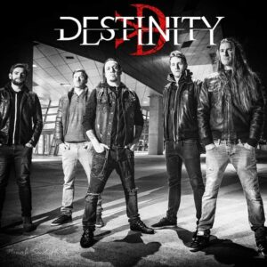 """Melodic Death Metallers DESTINITY are back with a new video for """"Reject the Deceit""""."""