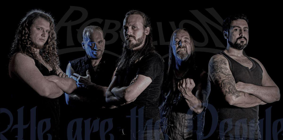 """Οι REBELLION κυκλοφόρησαν νέο βίντεο στίχων για το τραγούδι """"Vaterland""""."""