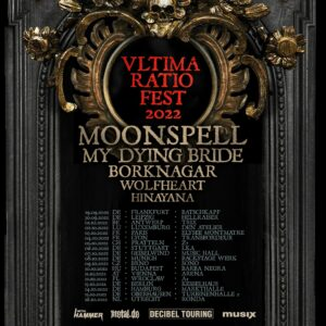 MOONSPELL announced a new European tour, together with special guests!