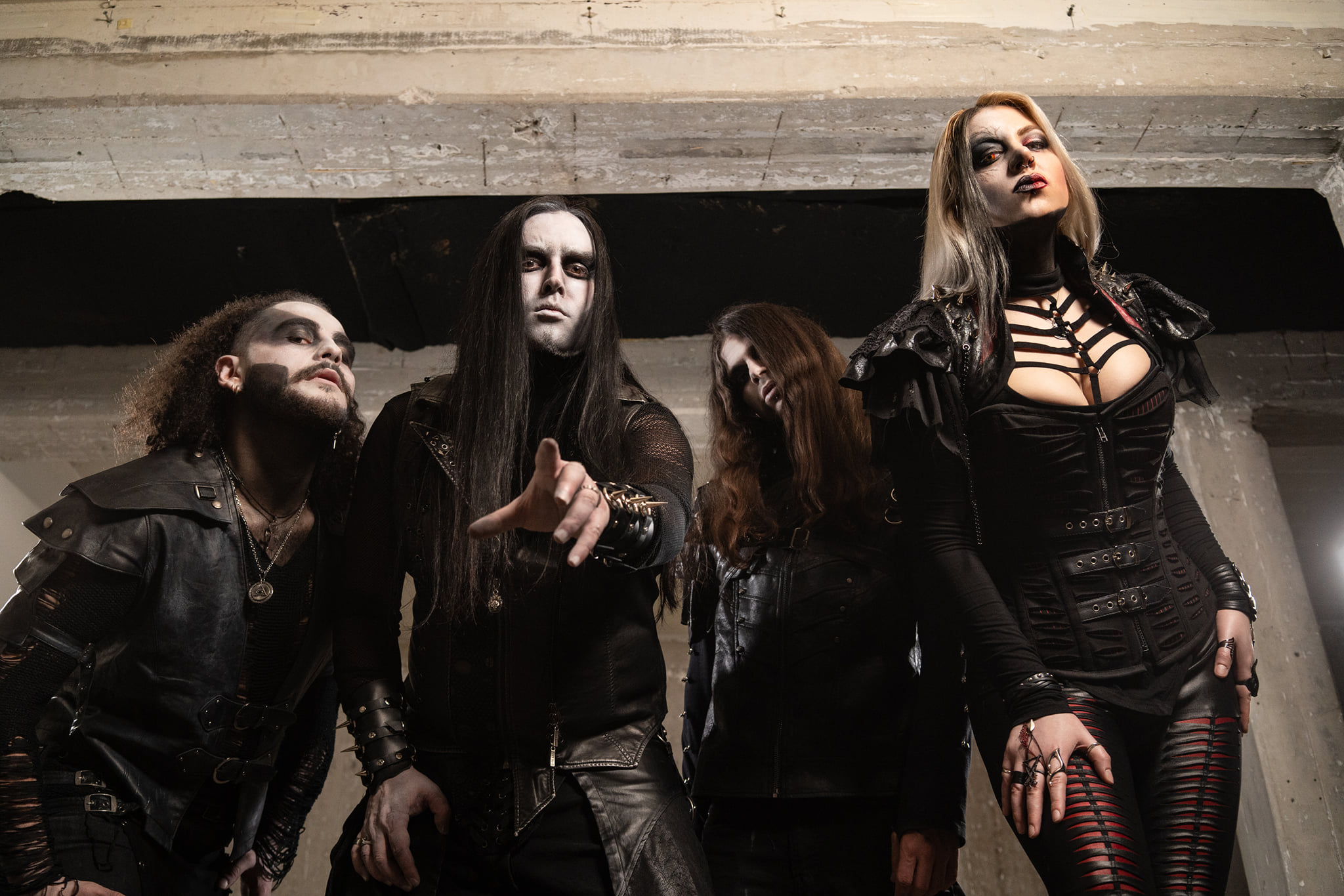 New song and video from the Greek Symphonic Black Metallers W.E.B.!