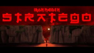 """IRON MAIDEN released new animated video for """"Stratego""""!"""