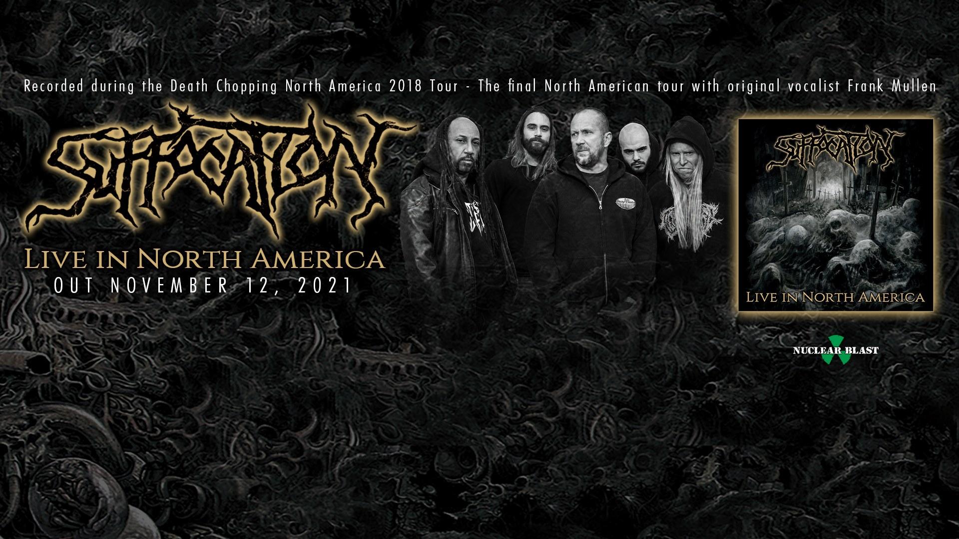 Νέο ζωντανά ηχογραφημένο άλμπουμ από τους SUFFOCATION.